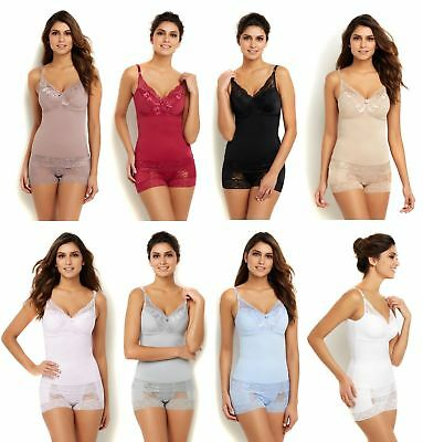 HSN 527-888 Rhonda Shear Pin-Up Lace Camisole 2-pack