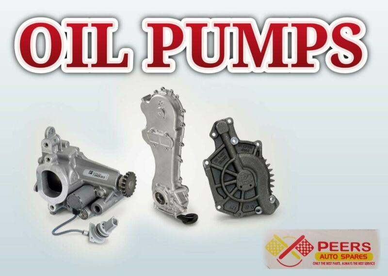 OIL PUMP FOR MOST VEHICLES
