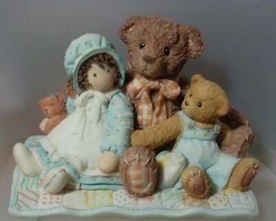 """CHERISHED TEDDIE /""""BAXTER AND FRIENDS/"""" IPR EDITION 644358F MINT  IN BOX"""