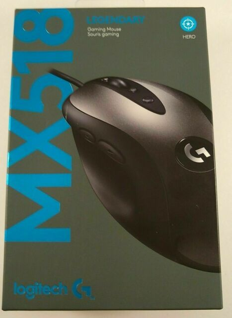 Logitech MX518 (910-005542) Wired Gaming Mouse Brand New in Box