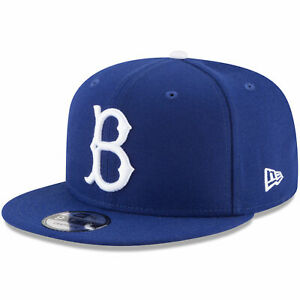 buy popular 13076 8a311 Image is loading Brooklyn-Dodgers-B-New-Era-MLB-Snap-9FIFTY-