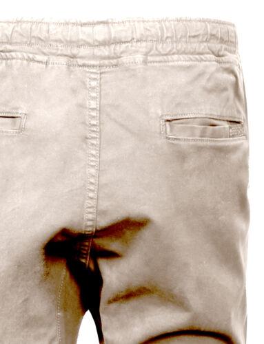 NE PEOPLE Mens Basic Premium Comfort Plain//Camo Twill Jogger Chino Pants NEMP03