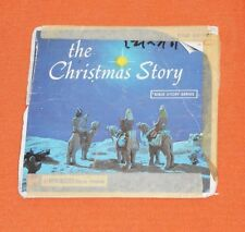 vintage THE CHRISTMAS STORY VIEW-MASTER REELS packet with booklet Bible Story