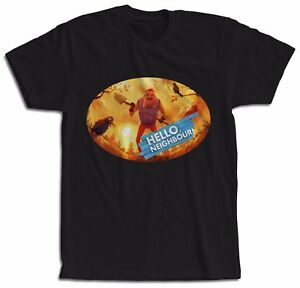 HELLO-NEIGHBOR-CAMISETA-T-SHIRT-MAGLIETTA-HELLO-NEIGHBOR-VIDEO-JUEGO-NINOS