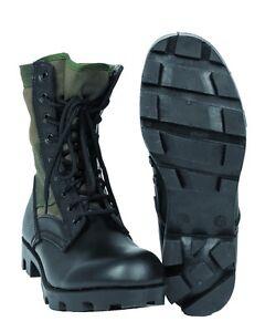 Mil-Tec-US-Dschungelstiefel-Panama-Kampfstiefel-Jungle-Boots-Oliv-12826001