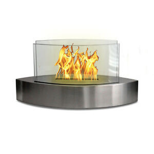 Anywhere Fireplace Lexington Stainless Steel Fireplace