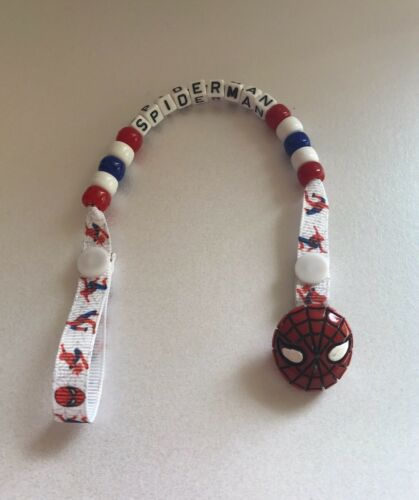 Personalised Spider-Man Dummy Clip