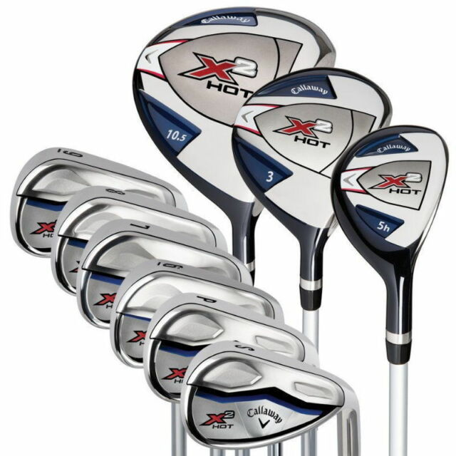 Callaway X2HOT 9PC Golf Club Complete Set 10.5 Regular Right Handed