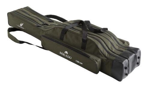 160cm Étui Fourreau Mikado Fishunter Sac Baguette avec 3 Ventilateur de 120cm
