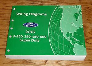 original 2016 ford f 250 350 450 550 super duty wiring. Black Bedroom Furniture Sets. Home Design Ideas