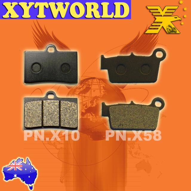 FRONT REAR Brake Pads TM T.M. SMR 300 2T 2005-2008 2009 2010 2011 2012 2013 2014