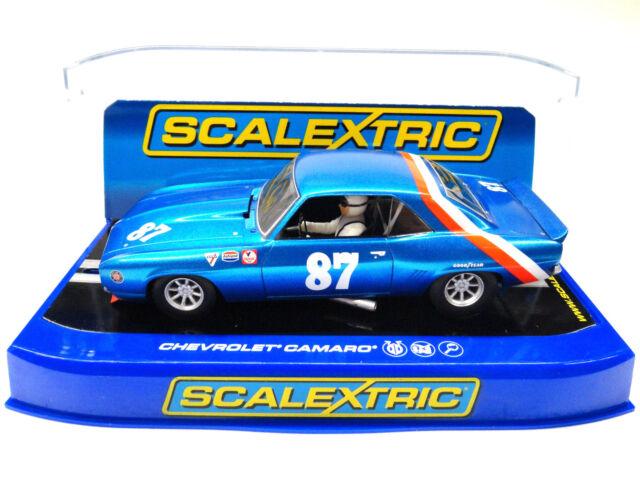 Scalextric US Exclusive '69 Chevrolet Camaro DPR 1/32 Scale Slot Car C3430