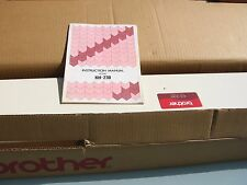 BROTHER CHUNKY KNITTING MACHINE KH-230+INSTRUCTIONS ACCESSORIES BOXED