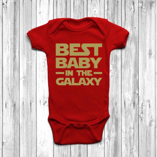 Bebé mejor en la galaxia Bebe Baby Crecer Cuerpo Suit Chaleco Regalo Lindo Star Wars
