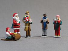 LIONEL CHRISTMAS PEOPLE FIGURE PACK O GAUGE pewter metal santa carolers 6-14259