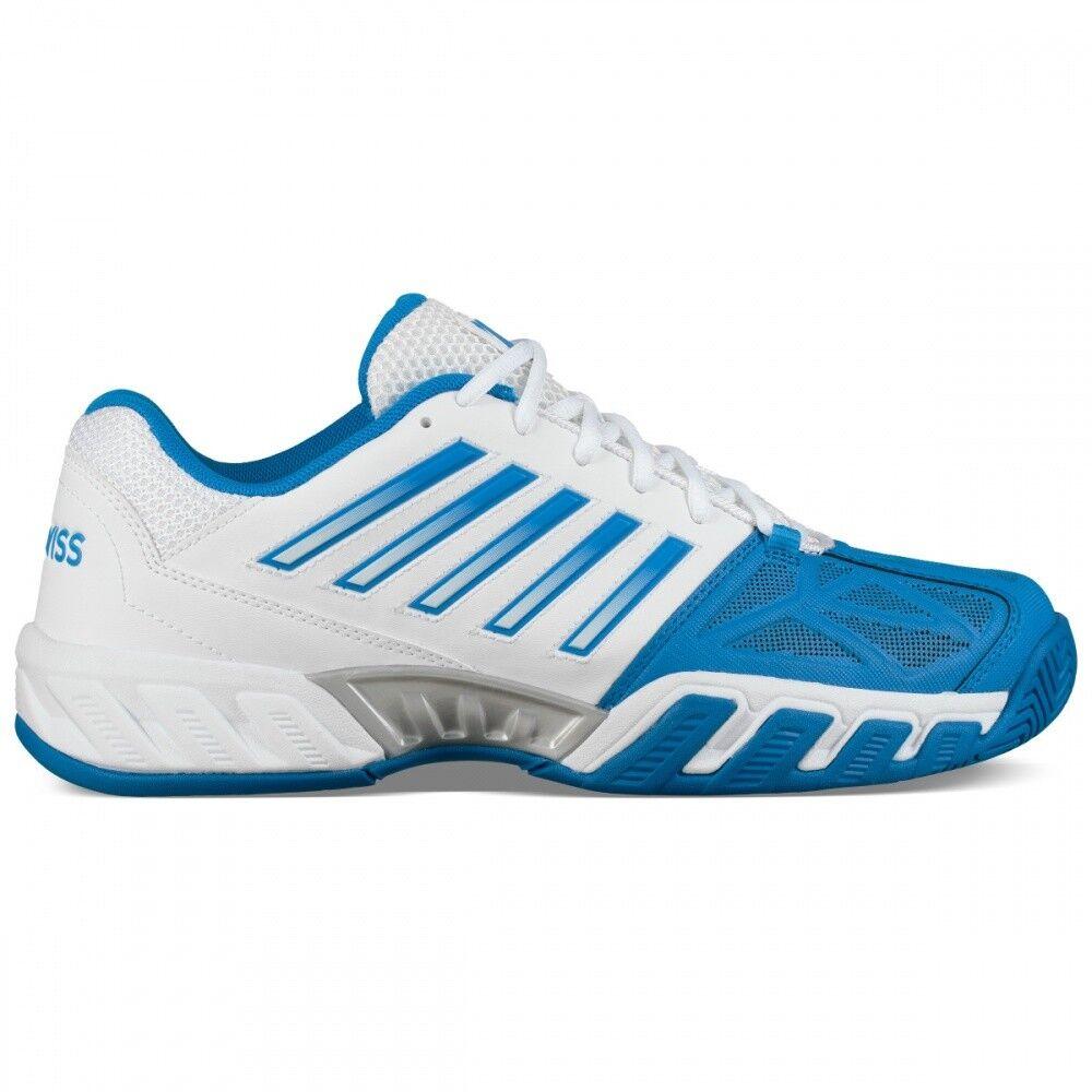 K-Swiss Bigshot Light 3 Tennisschuh Herren weiß blau outdoor   NEU
