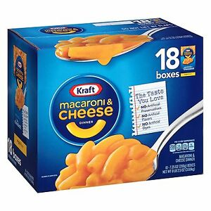 Kraft-Macaroni-amp-Cheese-Dinner-Original-Flavor-7-25-oz-18-count