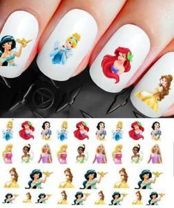 Disney-Nail-Decals-Stickers-Princess-Assortment-NAIL-ART-set-264