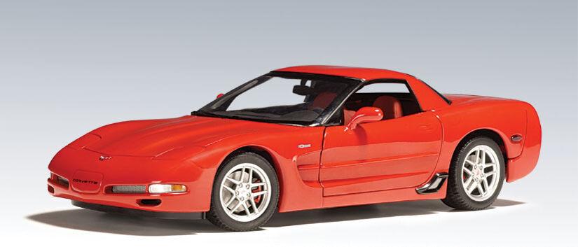 tienda de pescado para la venta 2001 Chevrolet Corvette C5 Z06 Coupe Coupe Coupe Antorcha Roja 1 18 de Autoart 71061 Nuevo En Caja  ahorra 50% -75% de descuento