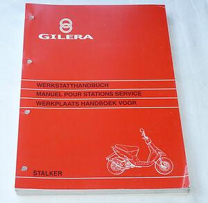 manuale di officina gilera stalker