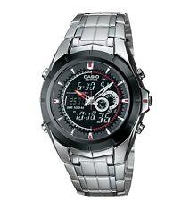men s casio 4334 edifice digital analog thermometer watch ebay rh ebay com Reloj Bulova Reloj Diesel
