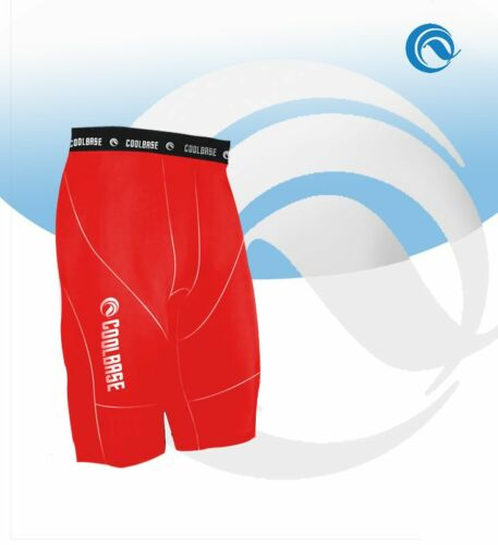Black White Blue Red Grey MENS Compression Base layer under layers skin Shorts