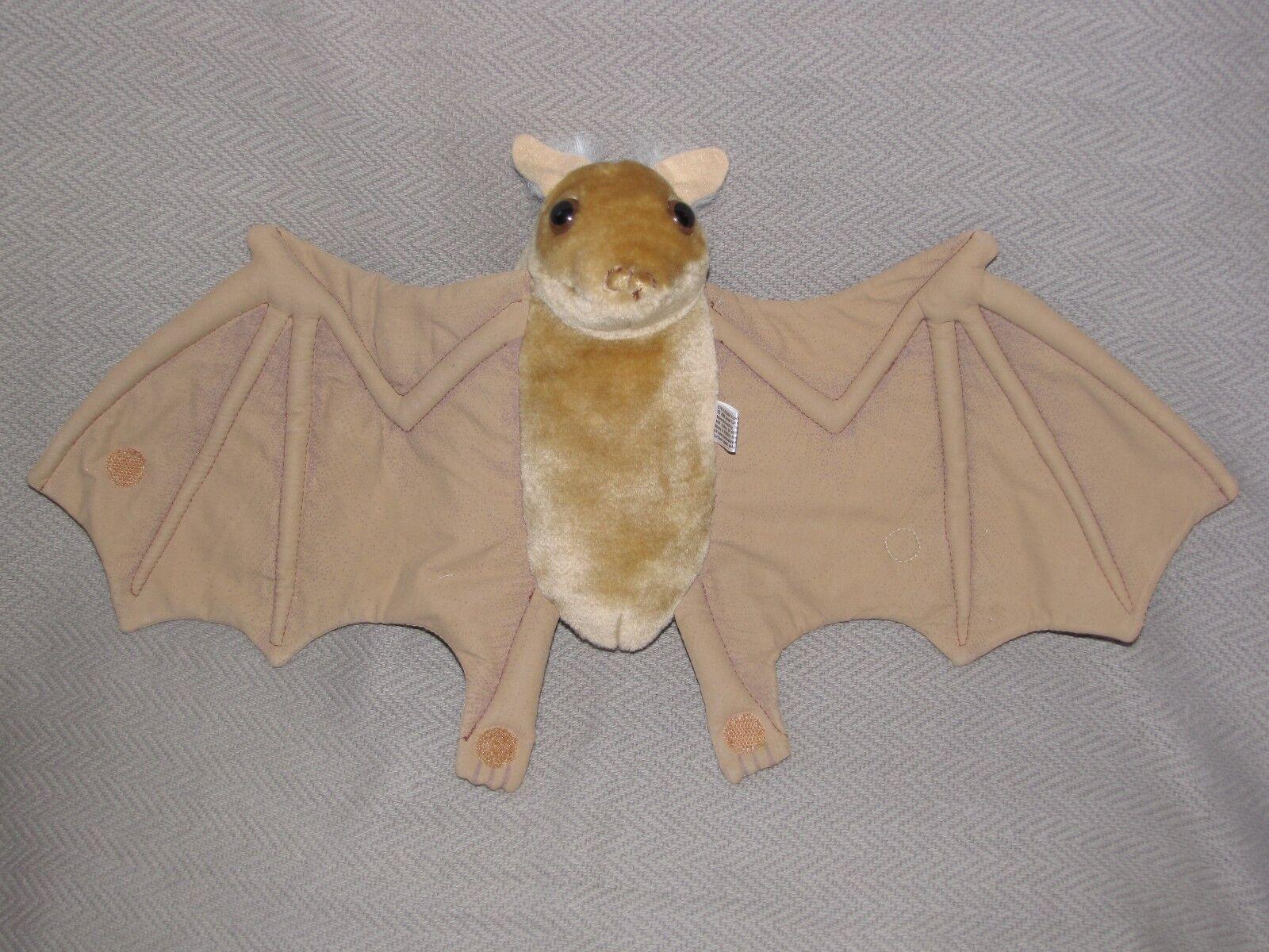 Vtg VHTF 1996 Stellaluna Plush Bat Puppet Janell Cannon 10 X20  WINGSPAN