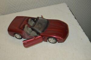 VOITURE-CHEVROLET-CORVETTE-1997-BURAGO-1-24-CAR-AUTO-DIE-CAST