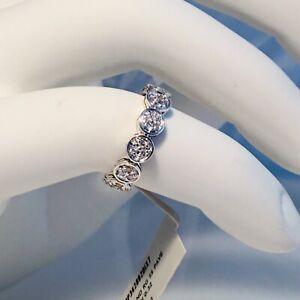 NWT-JOHN-HARDY-STERLING-SILVER-DIAMOND-PAVE-RING-DIAMOND-0-32-ct-SIZE-7