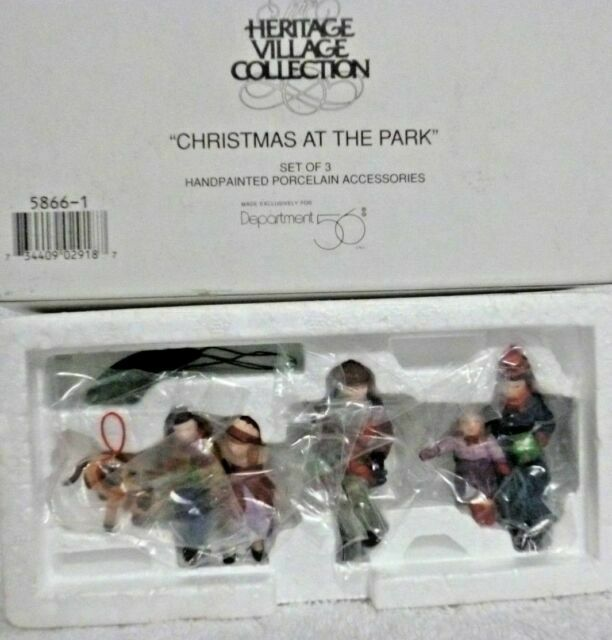 Department 56 Christmas in the City Uptown Boys Accessory Figurine