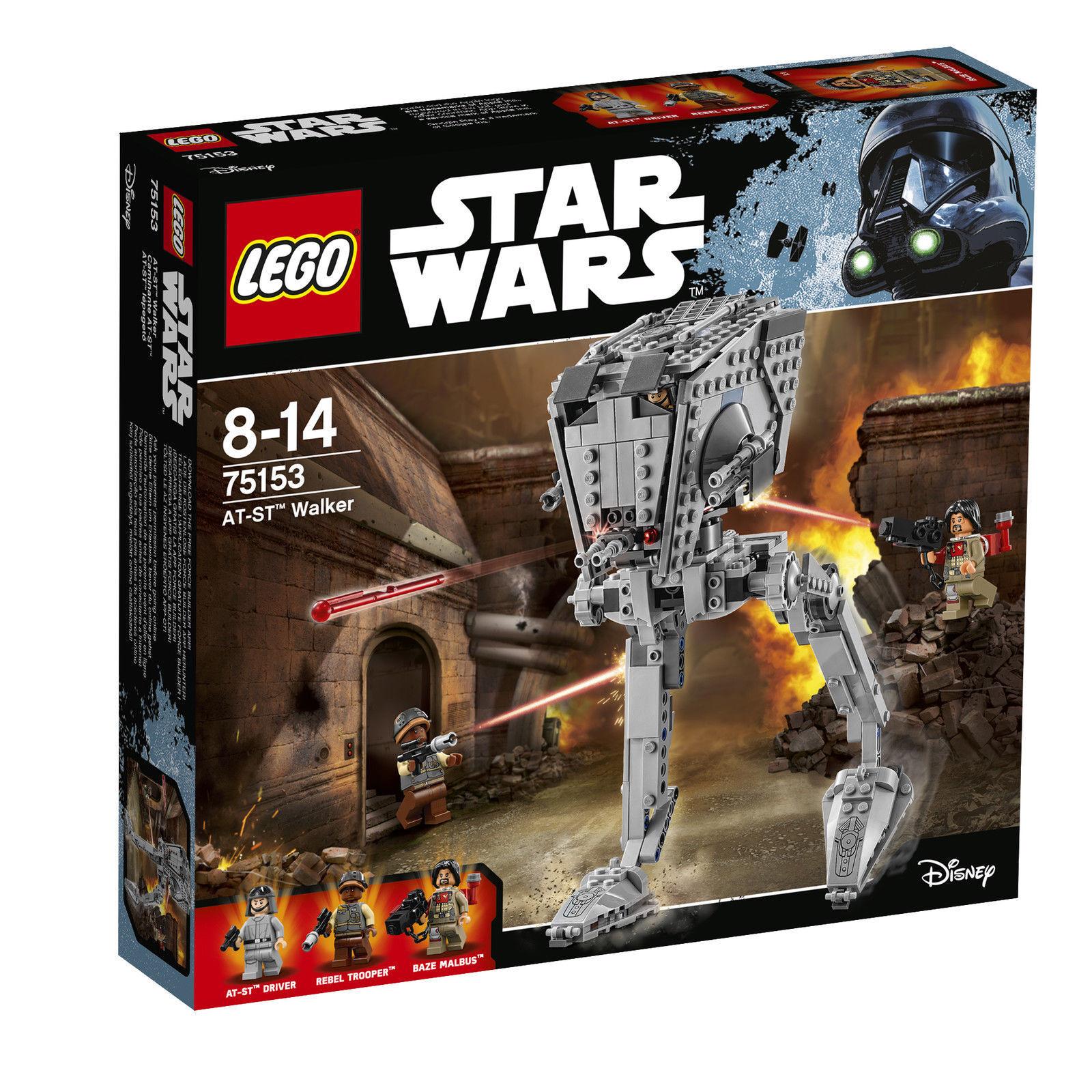 LEGO StarWars AT-ST Walker 75153 Spielzeug Bausatz NEU