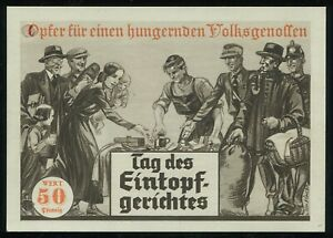 1933-Germany-3rd-Reich-Postcard-German-WWII-Hitler-Wehrmacht-Solidarity-Campaign
