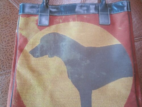 William Wegman dog purse tote