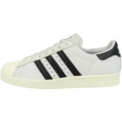 Adidas Superstar 80s Women Schuhe Damen Originals Retro Sneaker White Cq2512