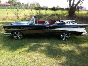 GORGEOUS-1957-CHEVROLET-BEL-AIR-CONVERTIBLE-FRAME-OFF-ROTISSERIE-RESTORATION