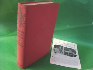 1952-Lincoln-and-His-Generals-T-Harry-Williams-Hardcover-Plus-Pamphlet-Civil-War