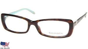 6f8b83d857c NEW TIFFANY   Co. TF 2070-B 8015 HAVANA  BLUE EYEGLASSES 55-16-135 ...
