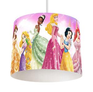 Disney princess 056 boys bedroom drum lampshade light shade ebay image is loading disney princess 056 boys bedroom drum lampshade light mozeypictures Images
