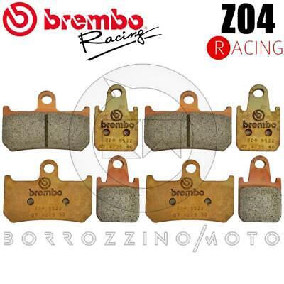 Motorradteile Brembo Set 8 Bremseklotz Vorne Z04 Racing Yamaha Yzf 1000 R1 Jahr 2015 MöChten Sie Einheimische Chinesische Produkte Kaufen? Bremsen