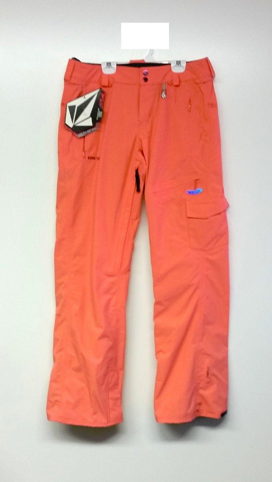 VOLCOM Women's Vista T.D.S. Gore-Tex Snow Pants - color PSN - Medium - NWT