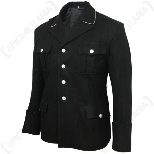 WW2 Wool Repro Uniform Quality New German Army Elite Black M32 Officers Tunic