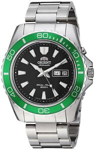 Orient-Men-039-s-039-Mako-XL-039-Automatic-Stainless-Steel-Casual-Watch-FEM75003B9