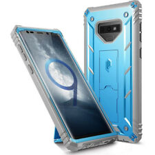 Poetic Galaxy Note 9 Case Revolution Rugged Heavy Duty Drop Protection Blue