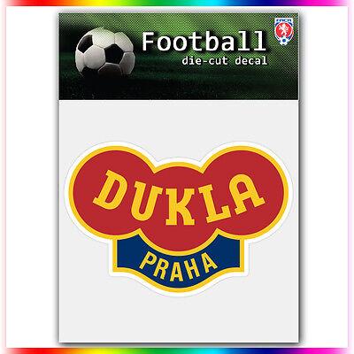 "FK Dukla Praha UEFA Die Cut Vinyl Sticker Car Bumper Window 2.8""x4"""