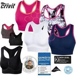 CRIVIT SPORTS Damen Seamless Sportbustier High Level Sport BH  Sportwäsche  R22