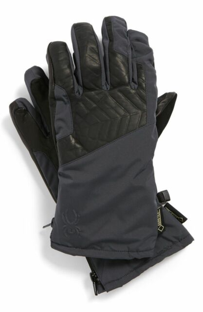 Spyder Men s Omega Ski Gloves Size XL Color Black for sale online  c1c7c79d2
