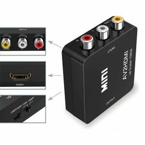 Convertitore-Da-RCA-A-HDMI-Amput-1080P-RCA-Composito-CVBS-AV-A-Video