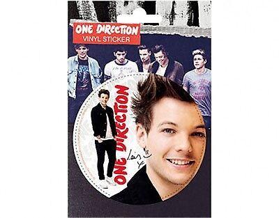 ONE DIRECTION louis 2013 circular VINYL STICKER official licensed merchandise 1D