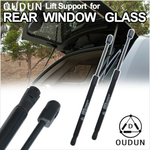 2pcs Rear Window Glass Gas Lift Supports Strut Shocks Fit 01-06 Hyundai Santa Fe
