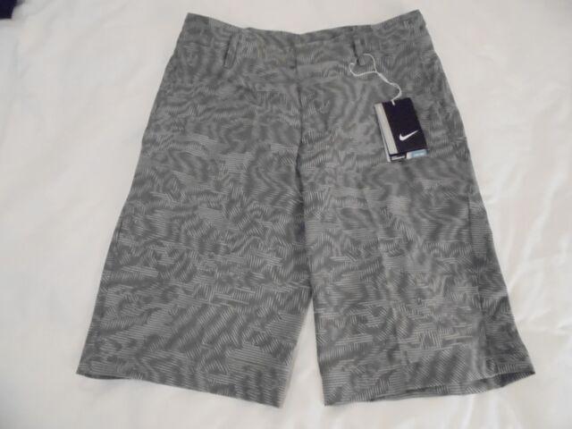 nuestra Silicio Incomodidad  Nike Golf Shorts Standard Fit Dri-fit Grey Geometric Design (28) for sale  online | eBay